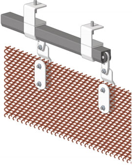Biscay Curtain Mesh System