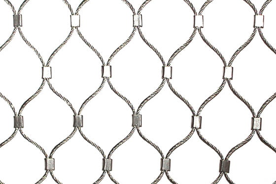 Rope Diamond Ferruled Mesh
