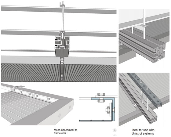 Suspended Ceiling Panels and Extrusion