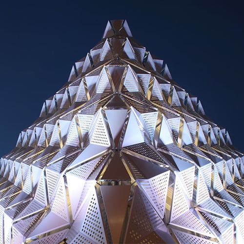 Architectural Metal Mesh Projects