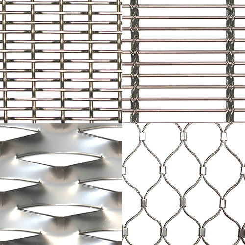 Architectural Metal Mesh Patterns