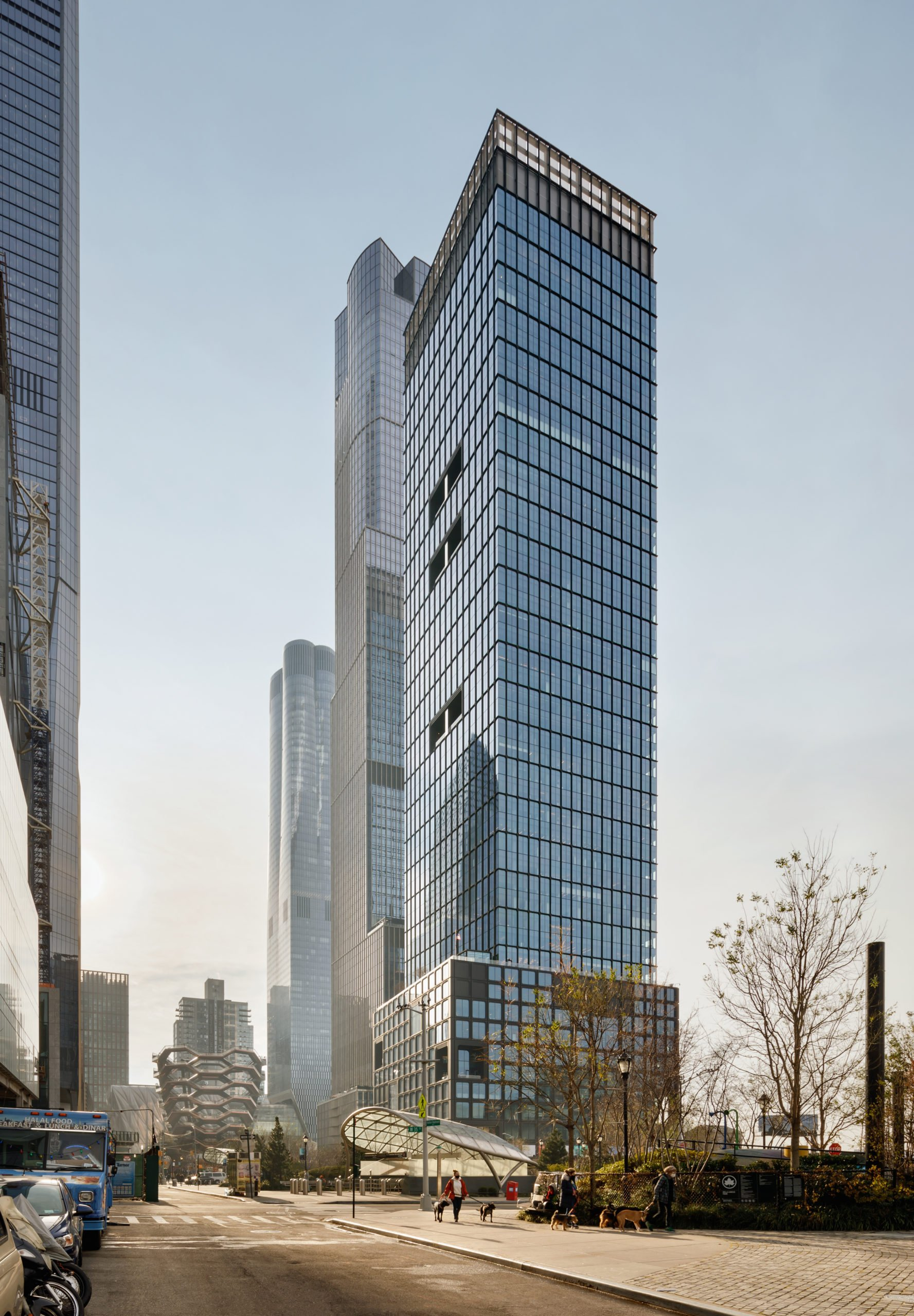 Full View of 55 Hudson Yards, New York, USA Project