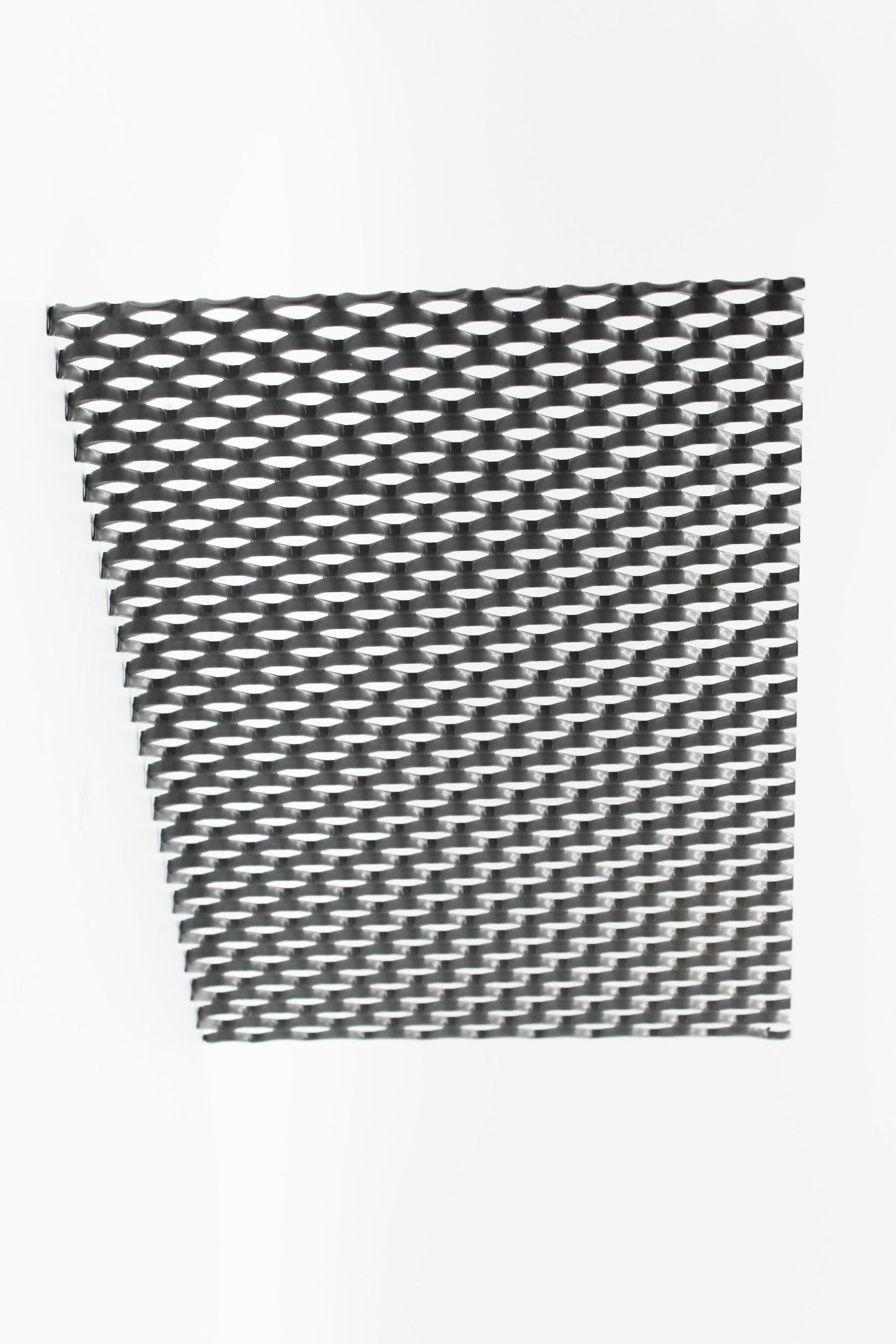 Soho XL grey expanded architectural mesh