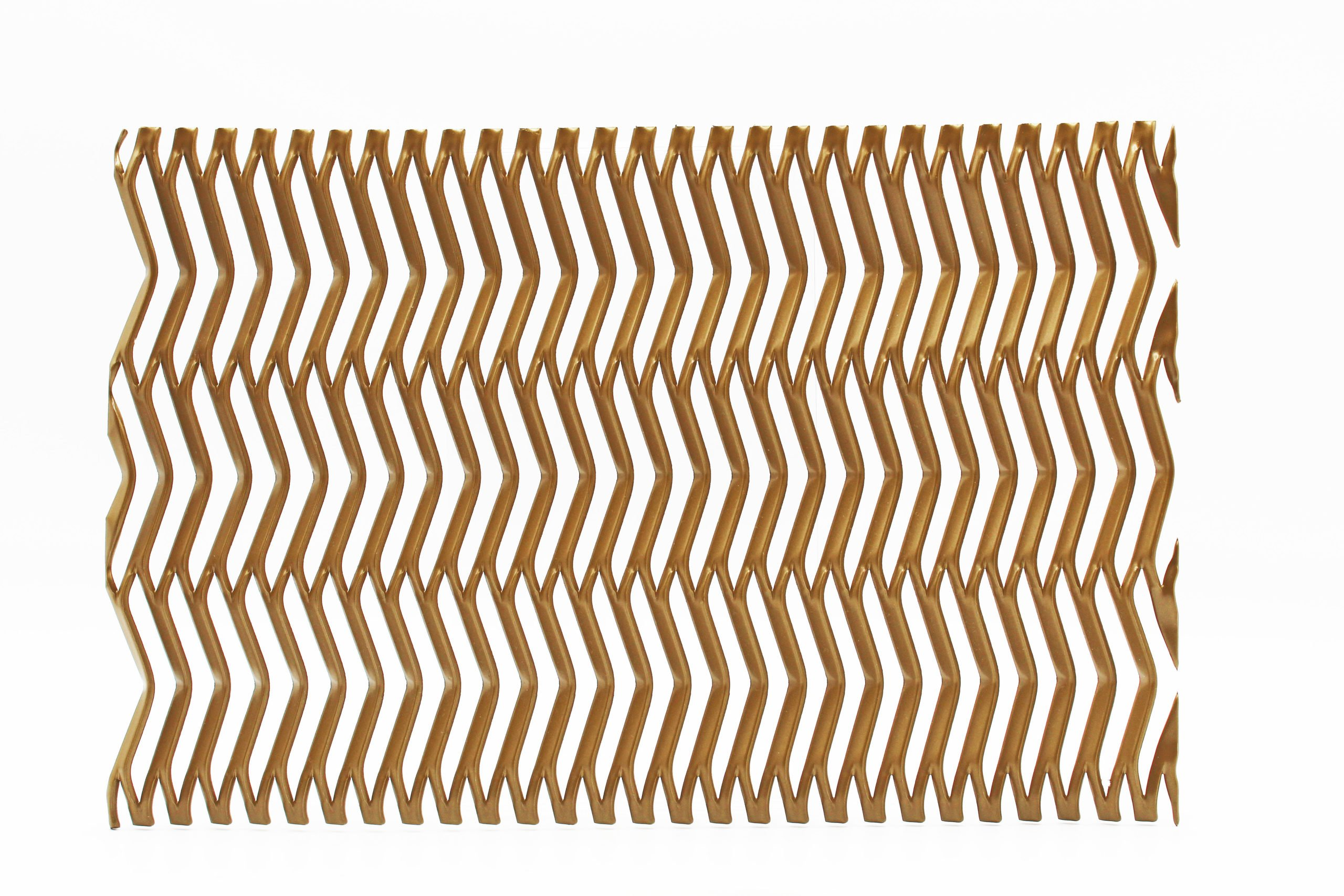 malin gold expanded architectural mesh