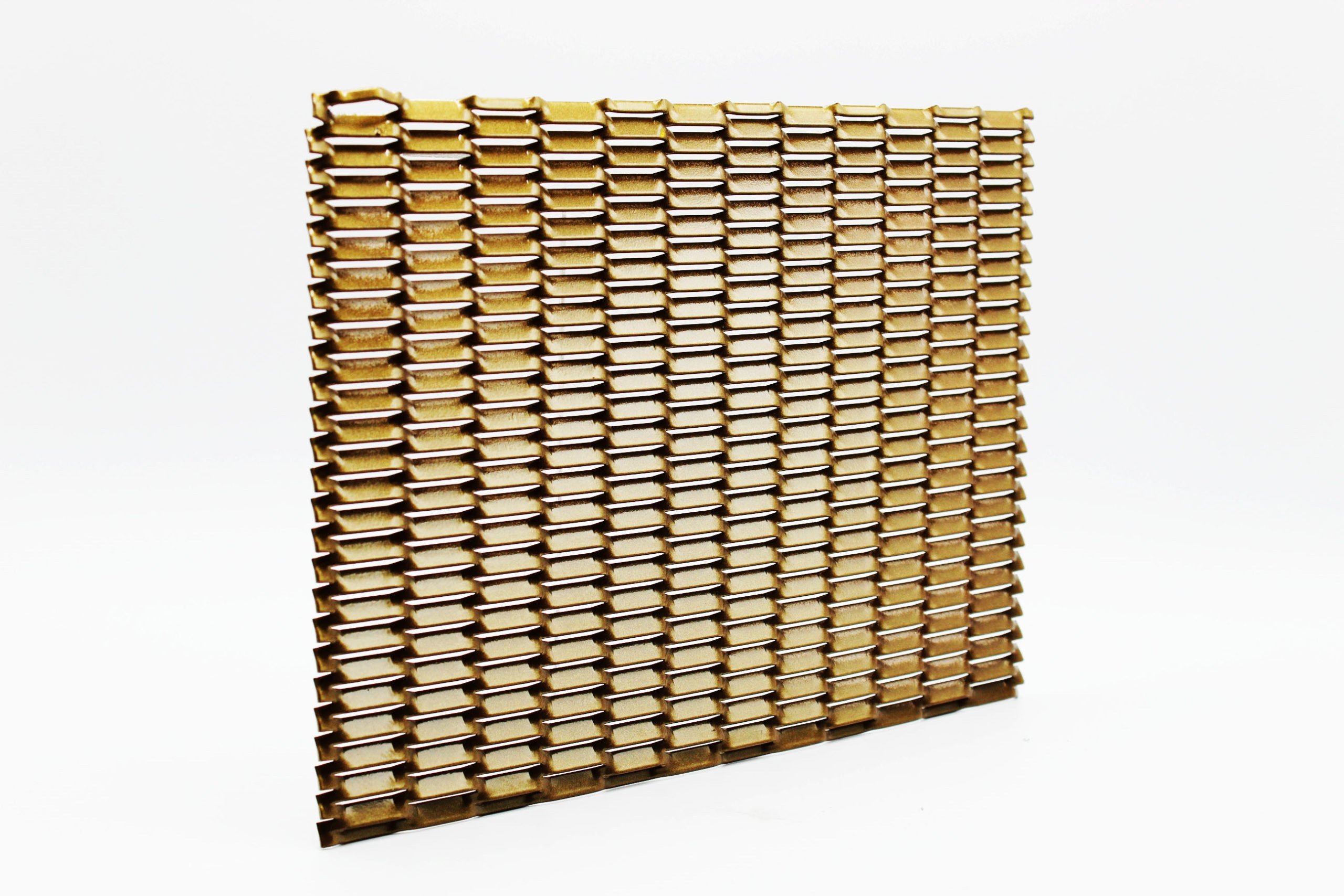 ribera gold expanded architectural mesh