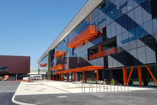 Here East, Queen Elizabeth Olympic Park London Cladding - Facade Broadway